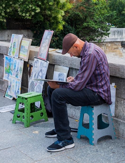 konstnär