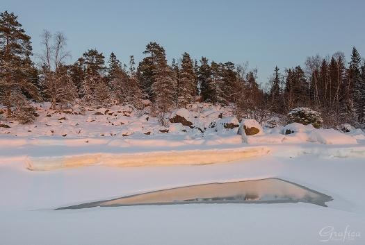 Isen är inte alltför säker att gå på verkar det som...